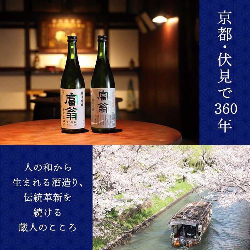 歴史を感じる「京の定番酒」飲み比べセット(720ml+300ml)【送料無料】