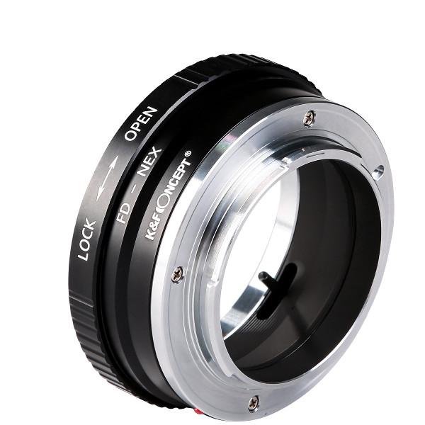 K&F Concept レンズマウントアダプター KF-FDE2 (キャノンFDマウントレンズ → ソニーEマウント変換)