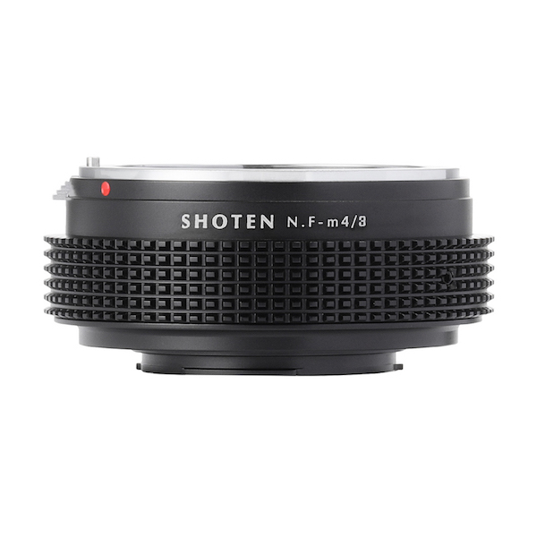 SHOTEN NF-m43(ニコンFマウントレンズ → マイクロフォーサーズマウント変換)マウントアダプター