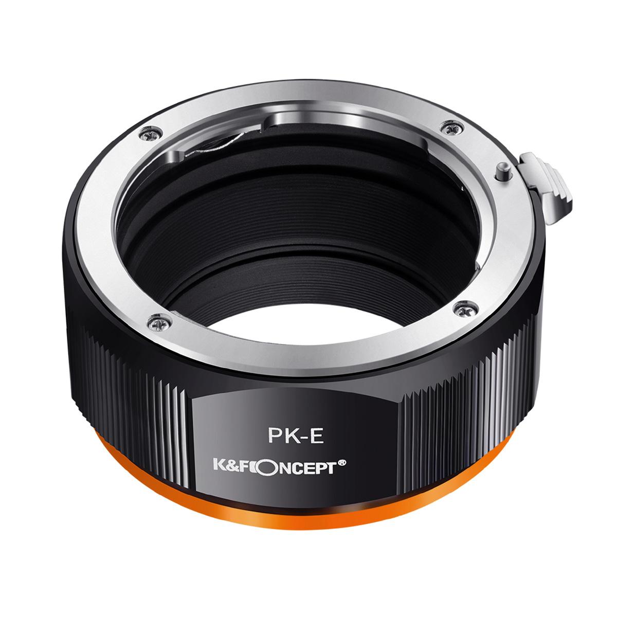 K&F Concept KF-PKE.P(ペンタックスKマウントレンズ → ソニーEマウント変換)レンズマウントアダプター