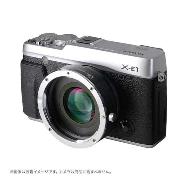 Lens Turbo II EF-FX キヤノンEFマウントレンズ - 富士フイルムXマウント フォーカルレデューサーアダプター