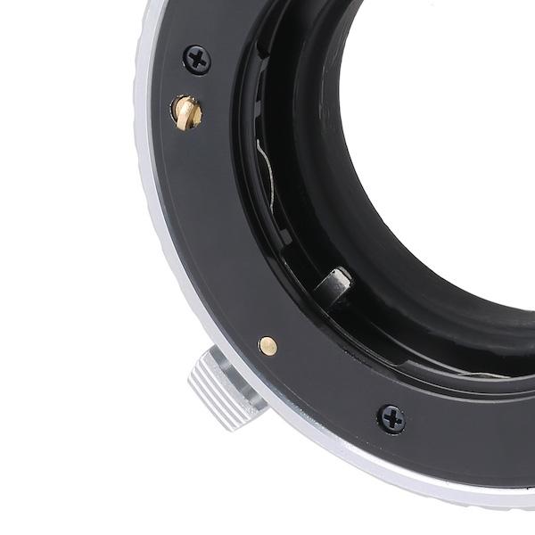 K&F Concept KF-CGM43(コンタックスGマウントレンズ → マイクロフォーサーズマウント変換)フォーカスリング付き