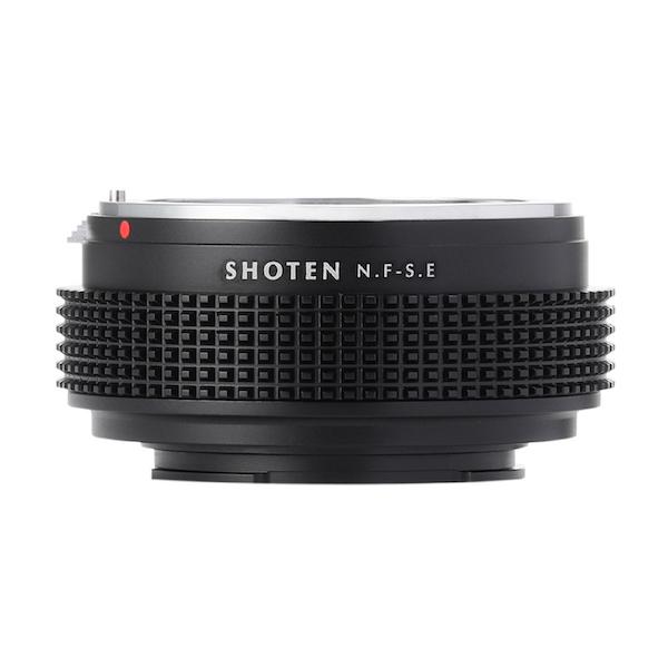 SHOTEN NF-SE(ニコンFマウントレンズ → ソニーEマウント変換)マウントアダプター