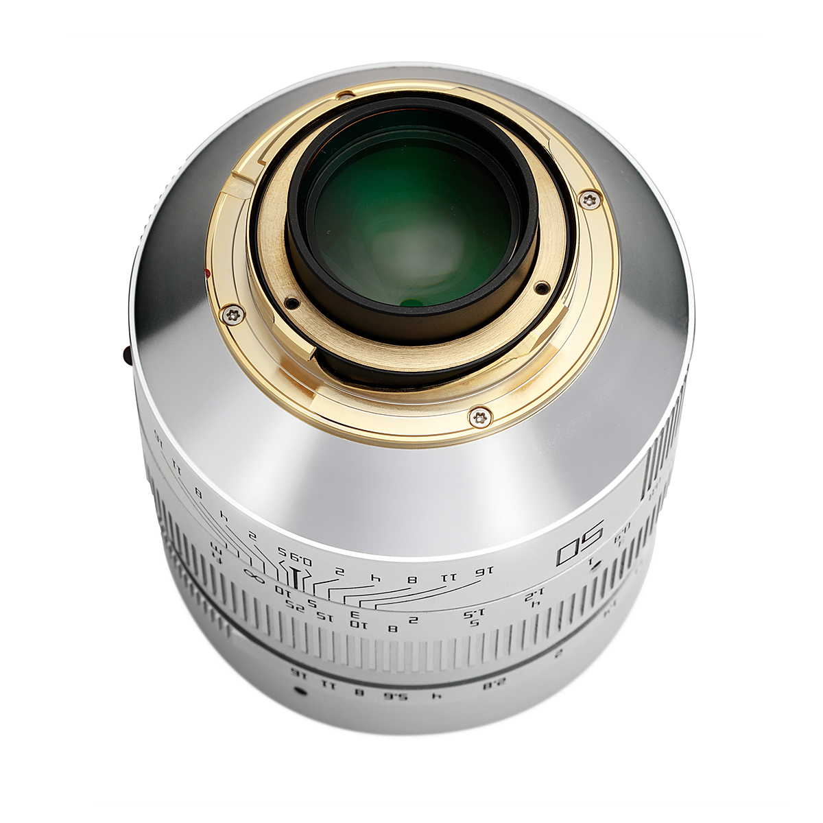 【限定モデル】銘匠光学 TTArtisan 50mm f/0.95 ASPH 単焦点レンズ ステンレスシルバー ライカMマウント