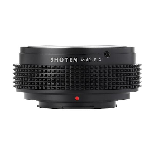 SHOTEN M42-FX(M42マウントレンズ → フジフイルムXマウント変換)マウントアダプター
