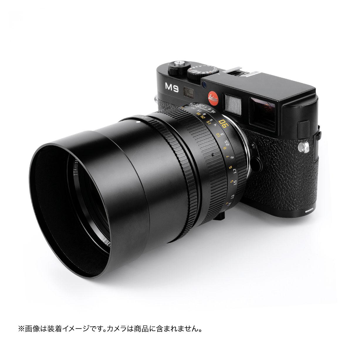 銘匠光学 TTArtisan 90mm f/1.25 ライカMマウント 単焦点レンズ