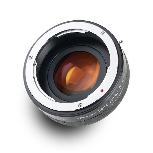 Lens Turbo II CY-NEX コンタックス・ヤシカマウントレンズ - ソニーNEX/α Eマウント フォーカルレデューサーアダプター