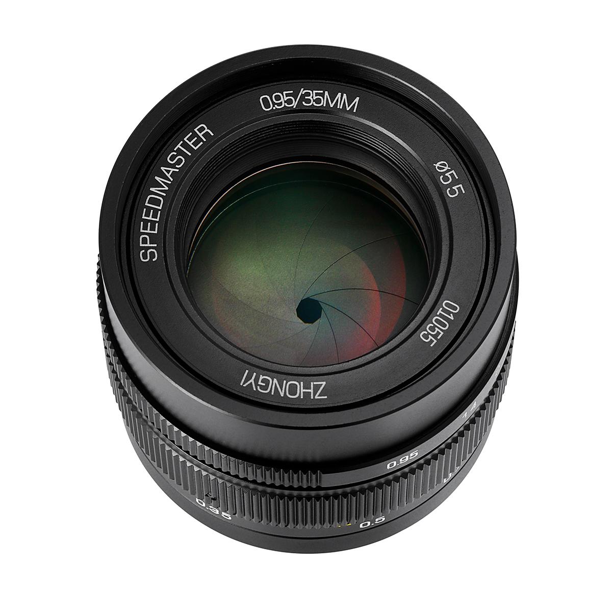 中一光学 SPEEDMASTER 35mm F0.95 II 単焦点レンズ ブラック