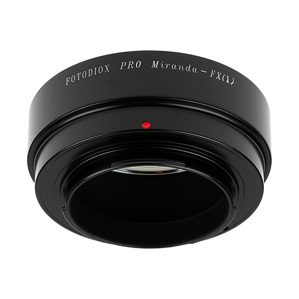 Fotodiox MIR-FXRF(ミランダマウントレンズ → 富士フイルムXマウント変換)マウントアダプター