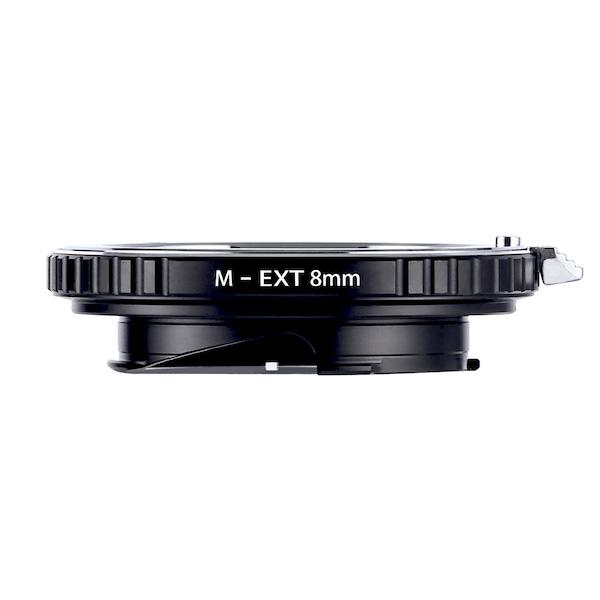 K&F Concept KF-MM8 エクステンションチューブ(ライカMマウント接写リング)8mm