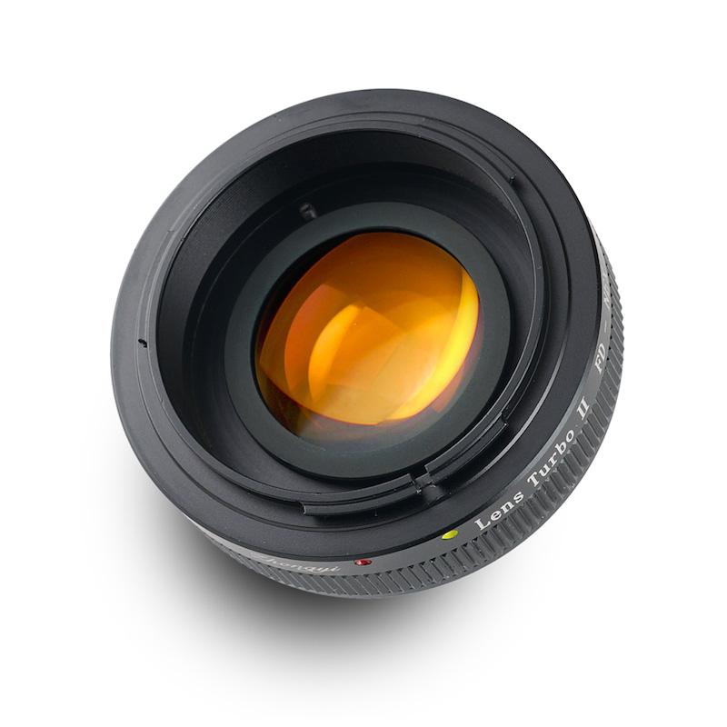 Lens Turbo II FD-NEX キヤノンFDマウントレンズ - ソニーNEX/α Eマウント フォーカルレデューサーアダプター