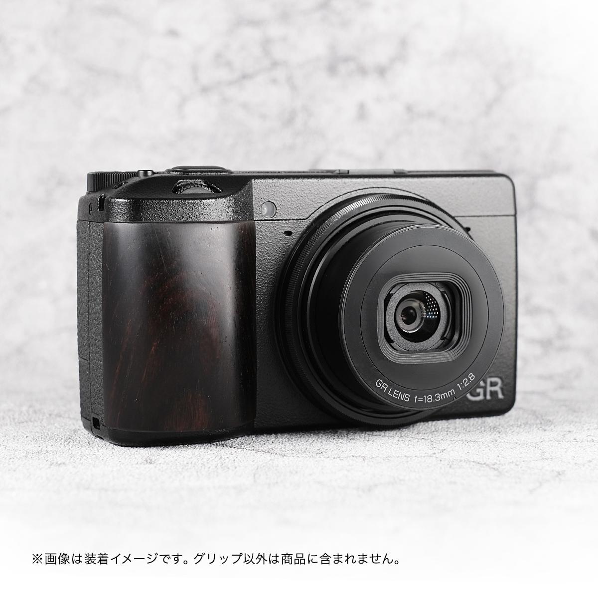 SHOTEN カメラウッドグリップ GR3-GP RICOH GR III 用