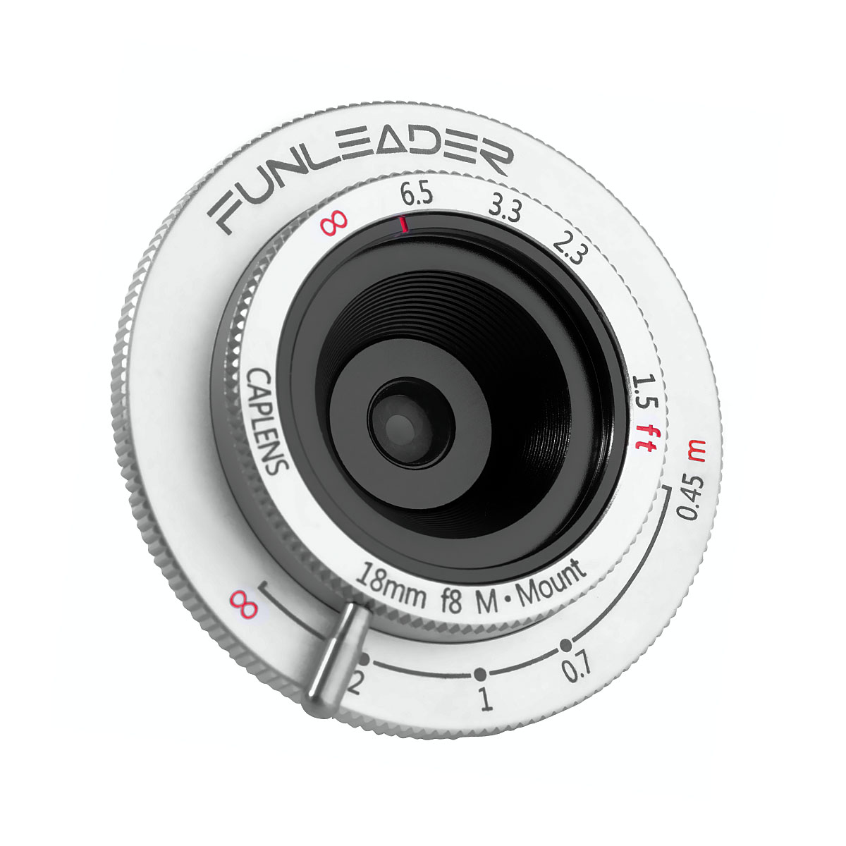 FUNLEADER CAPLENS 18mm f/8.0 M ライカMマウント