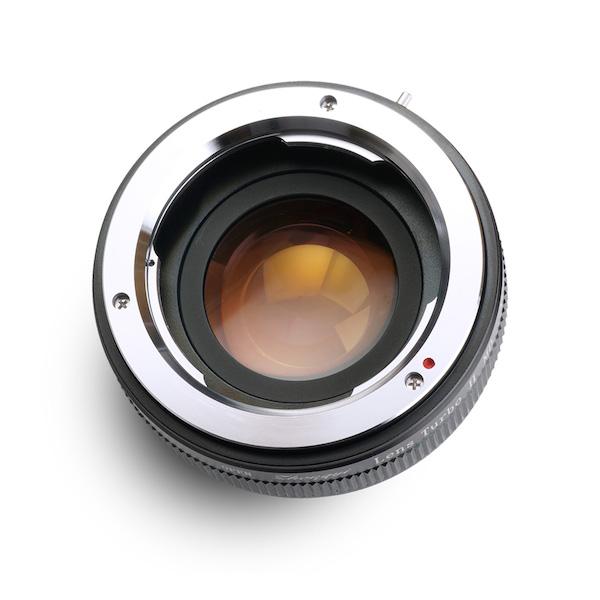 Lens Turbo II MD-NEX ミノルタMD・MC・SRマウントレンズ - ソニーNEX/α Eマウント フォーカルレデューサーアダプター