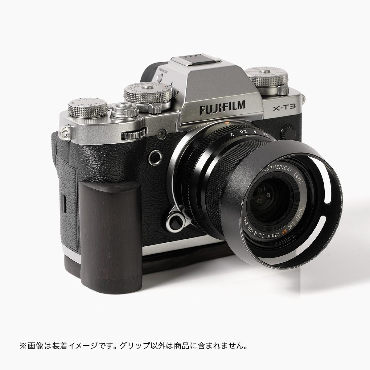 SHOTEN カメラウッドグリップ XT3-GP FUJIFILM X-T3 用