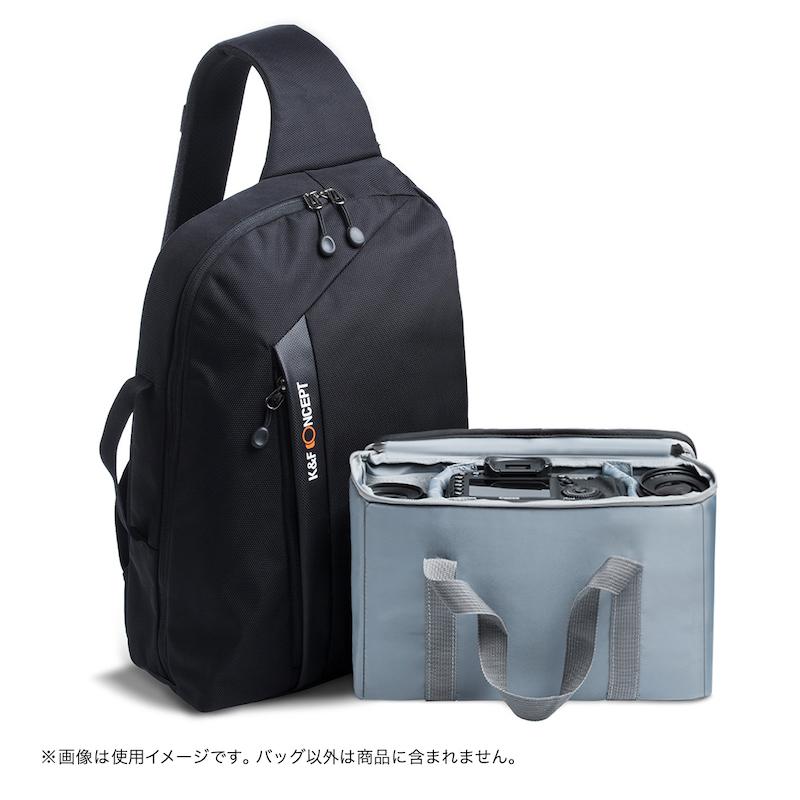 K&F Concept ワンショルダー カメラスリングバッグ KF-B090