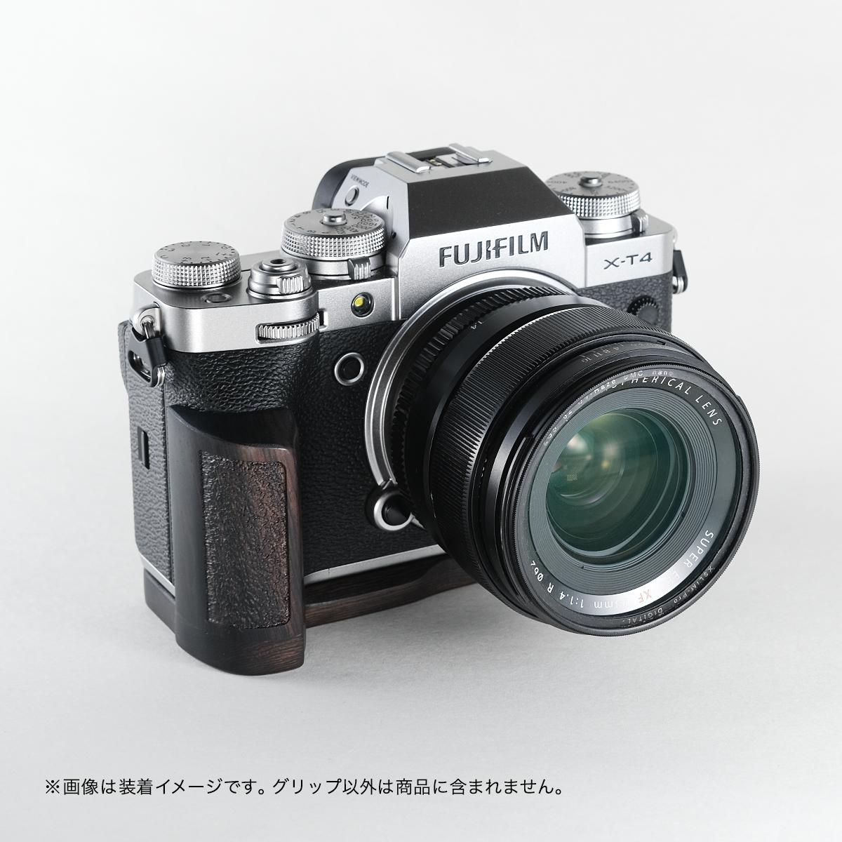 SHOTEN カメラウッドグリップ XT4-GP FUJIFILM X-T4 用