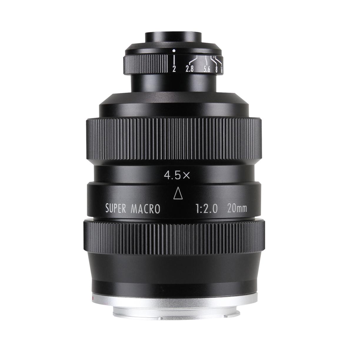 中一光学 FREEWALKER 20mm F2.0 SUPER MACRO 4-4.5:1ミラーレスカメラ用