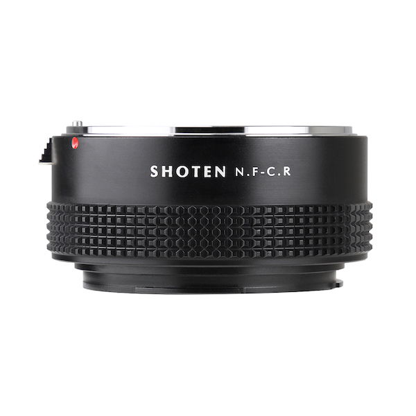 SHOTEN NF-CR(ニコンFマウントレンズ → キヤノンRFマウント変換)マウントアダプター