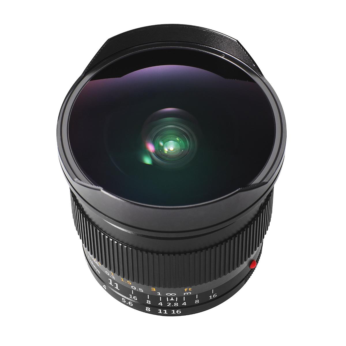銘匠光学 TTArtisan 11mm f/2.8 Fisheye 単焦点レンズ ライカMマウント ビューファインダー付き