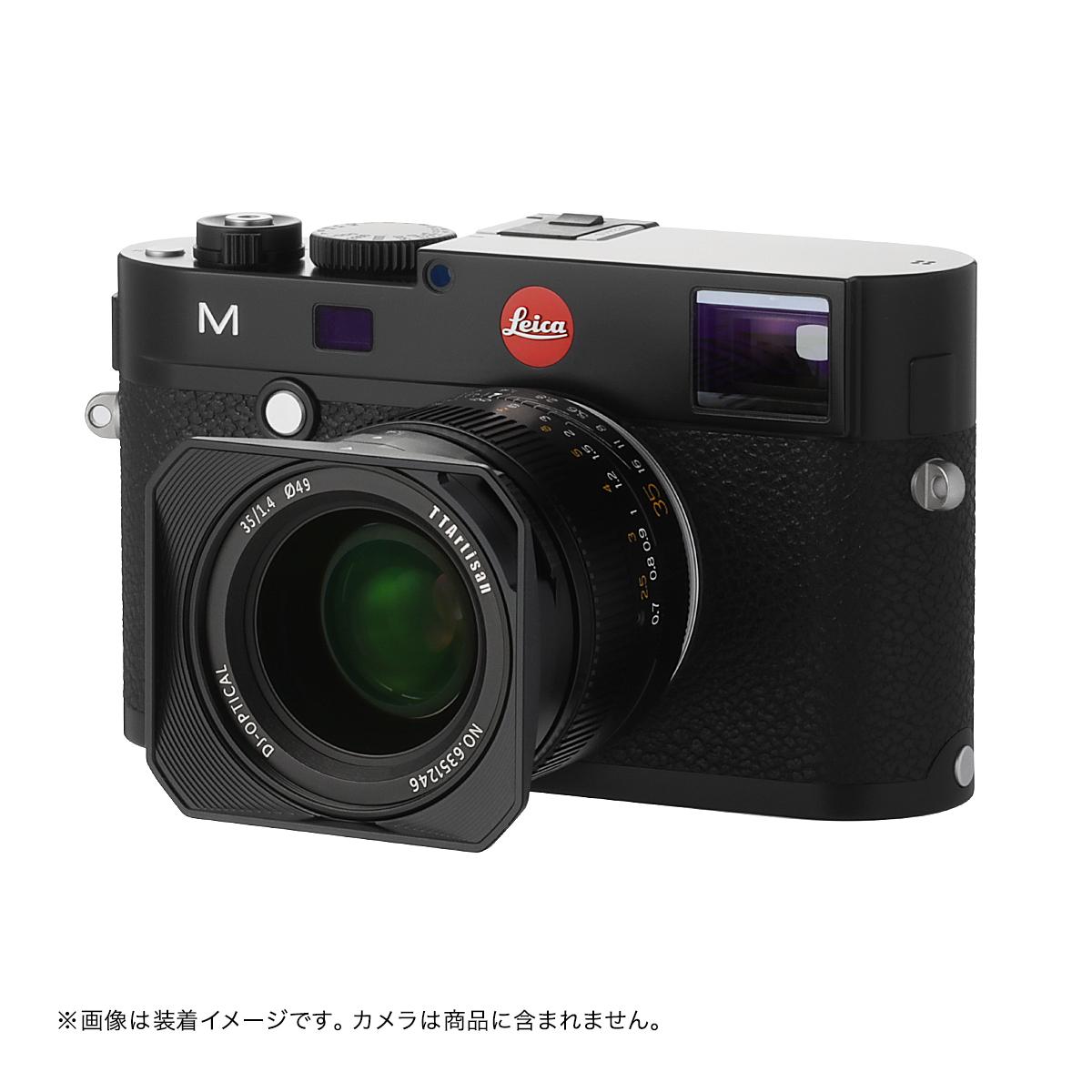 銘匠光学 TTArtisan 35mm f/1.4 ASPH 単焦点レンズ ライカMマウント ブラック