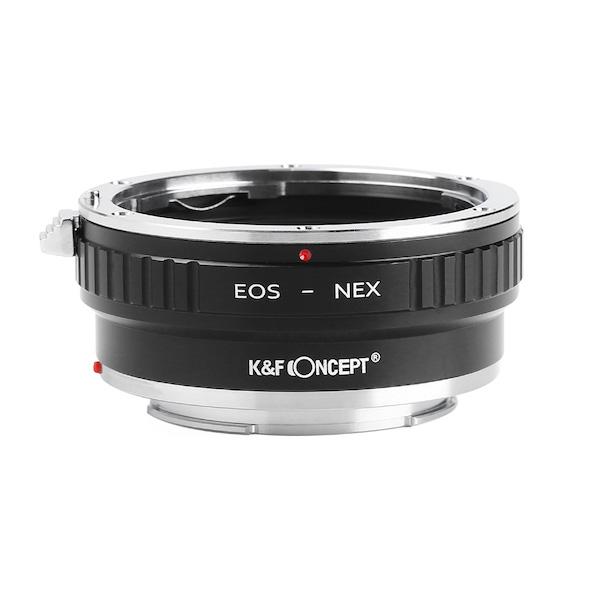 K&F Concept  KF-EFE2(キヤノンEFマウントレンズ → ソニーEマウント変換)