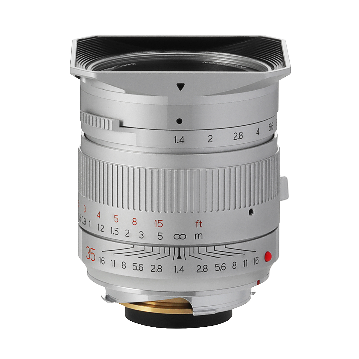 銘匠光学 TTArtisan 35mm f/1.4 ASPH 単焦点レンズ ライカMマウント シルバー