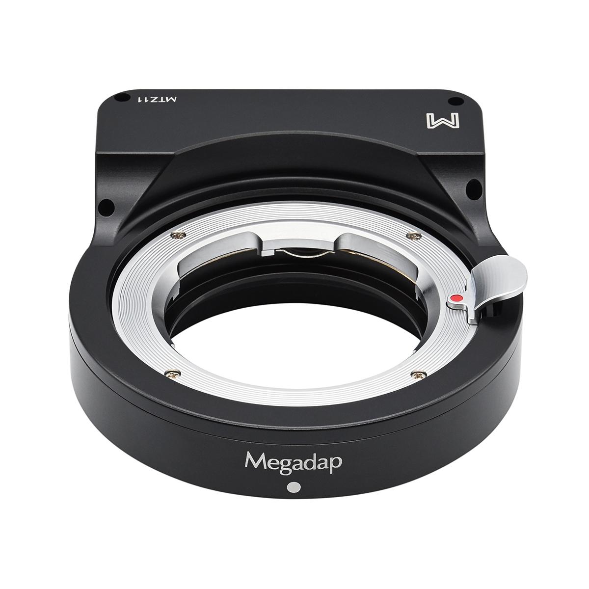 Megadap(メガダプ)MTZ11 (ライカMマウントレンズ → ニコンZマウント変換)電子マウントアダプター AF駆動モーター搭載