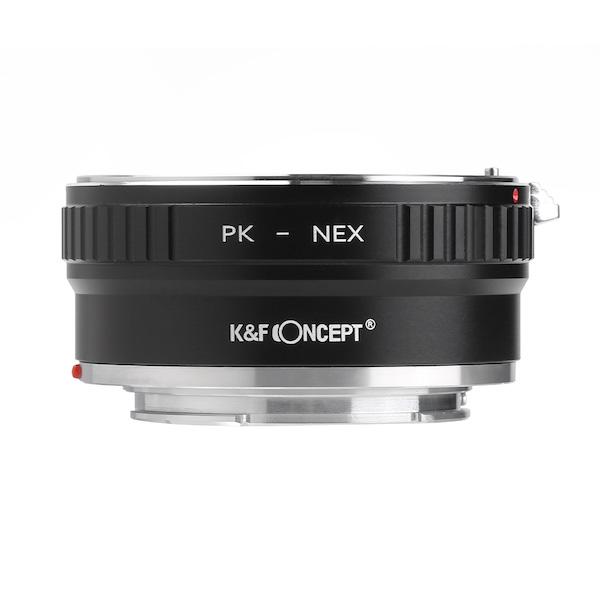 K&F Concept  KF-PKE2(ペンタックスKマウントレンズ → ソニーEマウント変換)