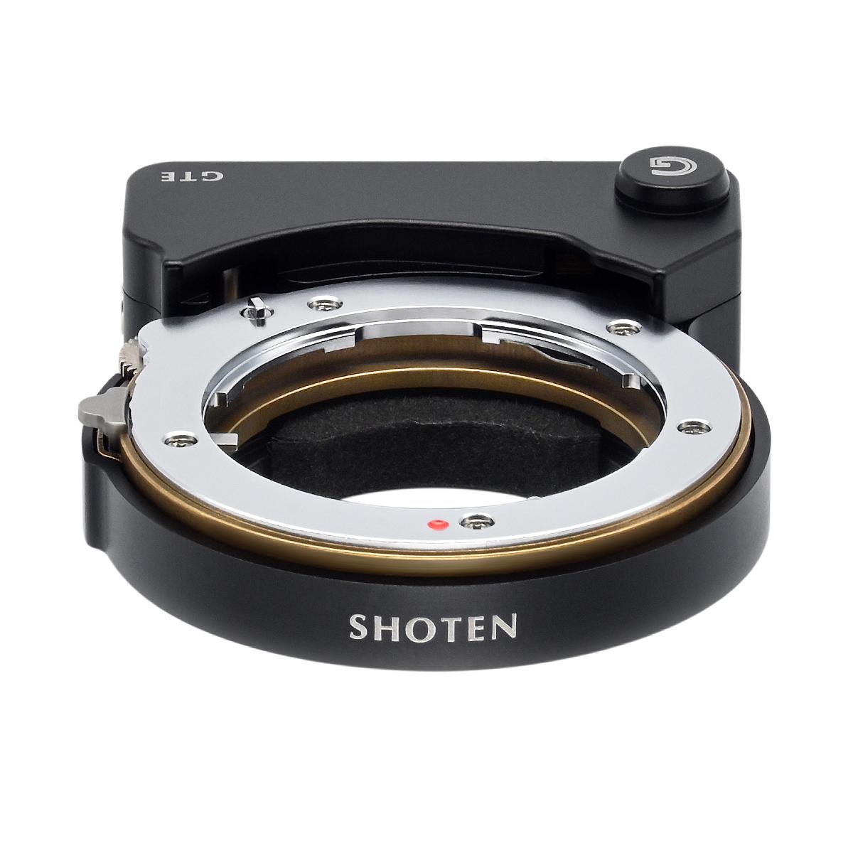 SHOTEN GTE(コンタックスGレンズ → ソニーEマウント変換)AFモーター内蔵 電子マウントアダプター