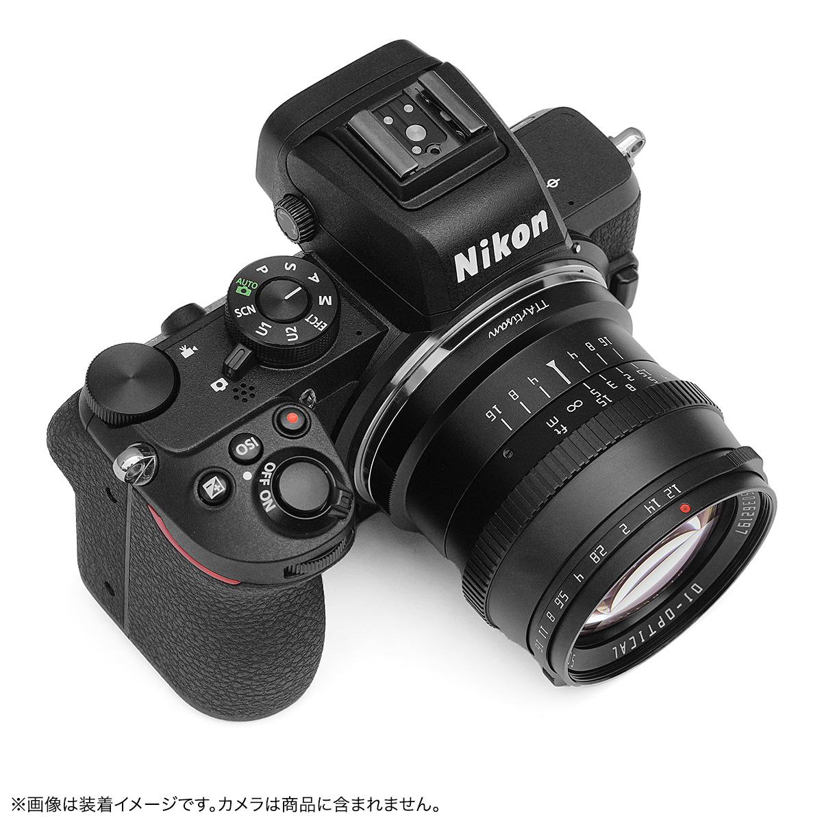 銘匠光学 TTArtisan 50mm f/1.2 C 単焦点レンズ