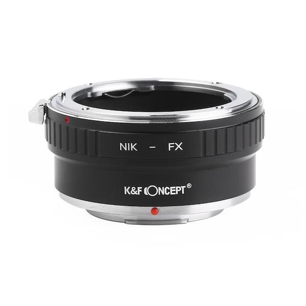 K&F Concept KF-NFX2(ニコンFマウントレンズ → 富士フイルムXマウント変換)