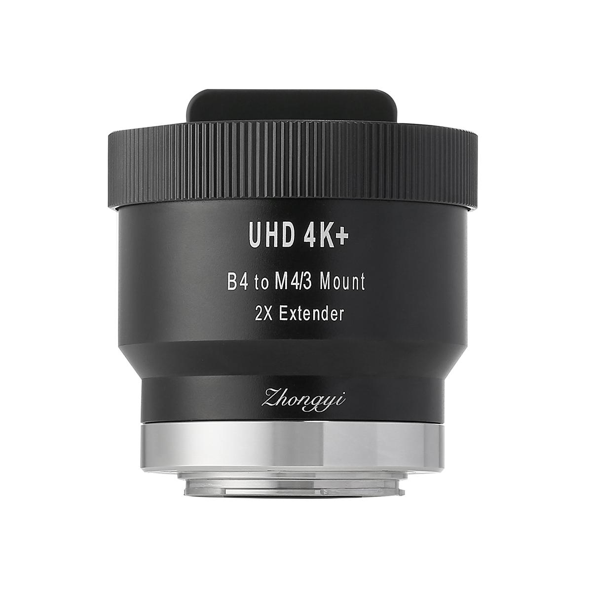 中一光学 UHD 4K+ B4 to M4/3 2X EXTENDER マウント変換エクステンダー