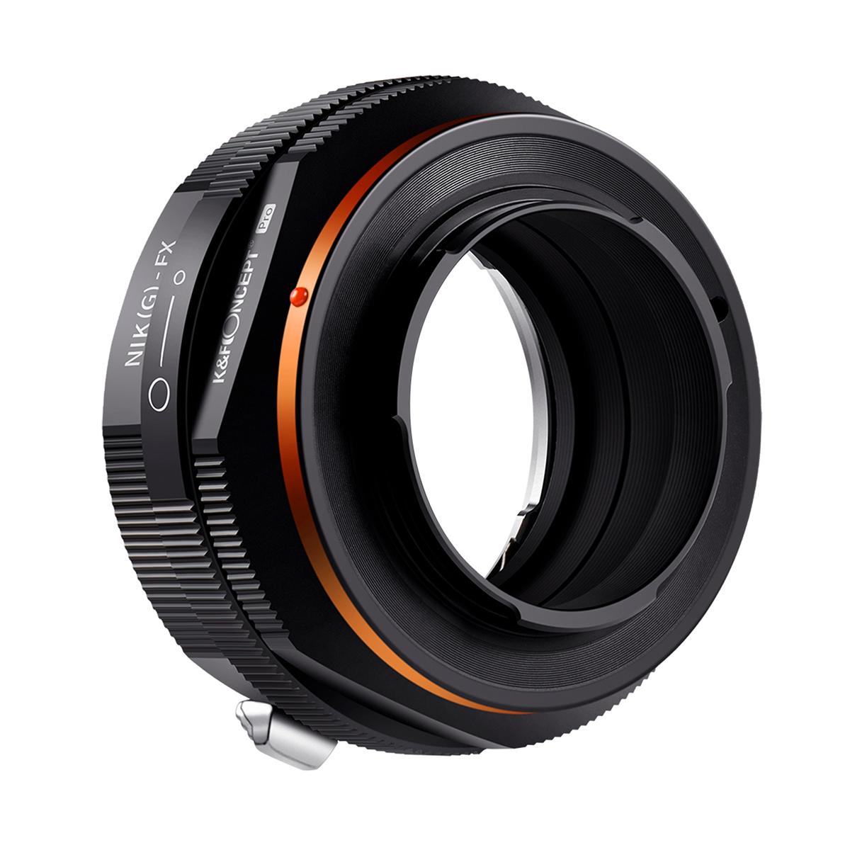 K&F Concept KF-NGX.P  (ニコンFマウント(Gタイプ対応)レンズ → 富士フイルムXマウント変換) 絞りリング付き