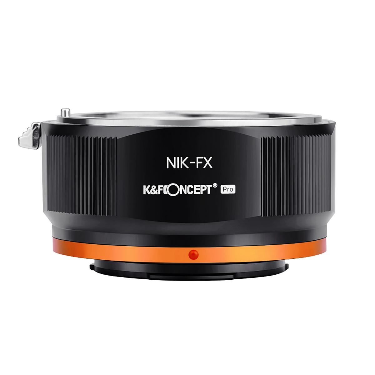 K&F Concept KF-NFX.P(ニコンFマウントレンズ → 富士フイルムXマウント変換)レンズマウントアダプター