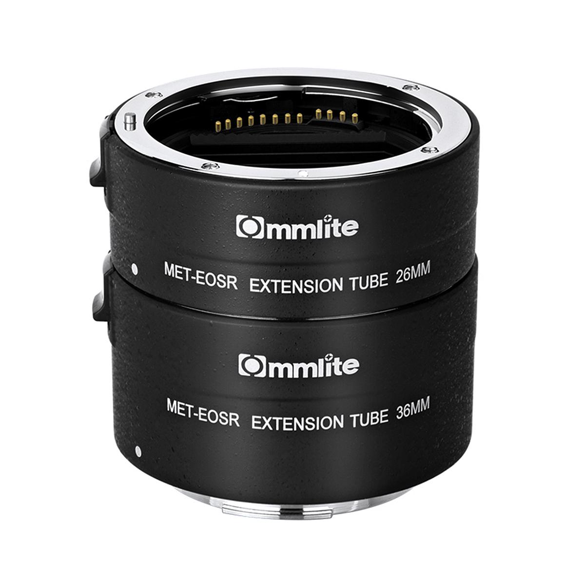 Commlite CM-MET-EOS R  エクステンションチューブ(キヤノンRFマウント)電子接点付き