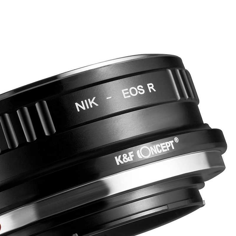 K&F Concept KF-NFRF(ニコンFマウントレンズ → キヤノンRFマウント変換)