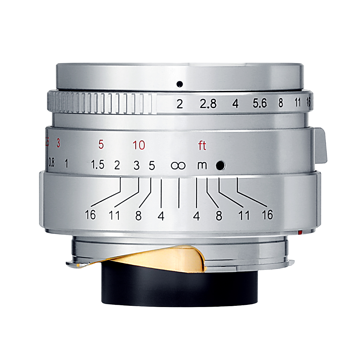 【限定モデル】七工匠 7Artisans 35mm F2 Limited Silver ステンレスシルバー 単焦点レンズ ライカMマウント