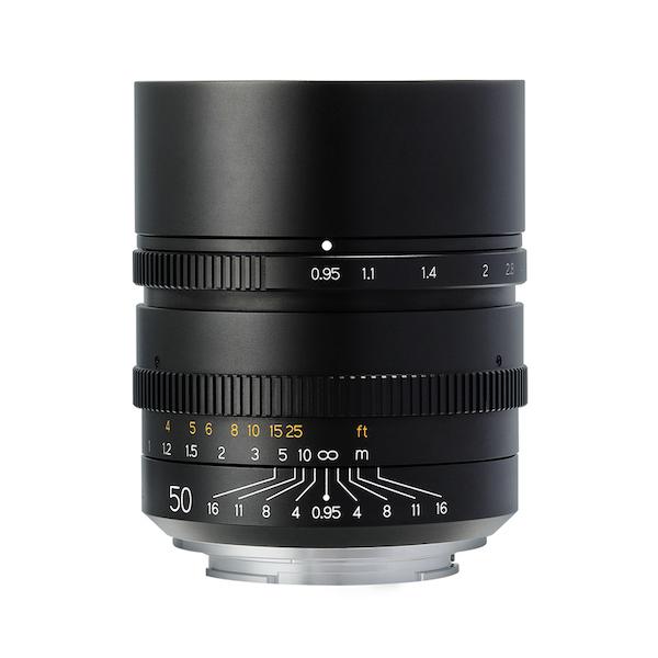 [限定モデル] 銘匠光学 TTArtisan 50mm f/0.95 単焦点レンズ
