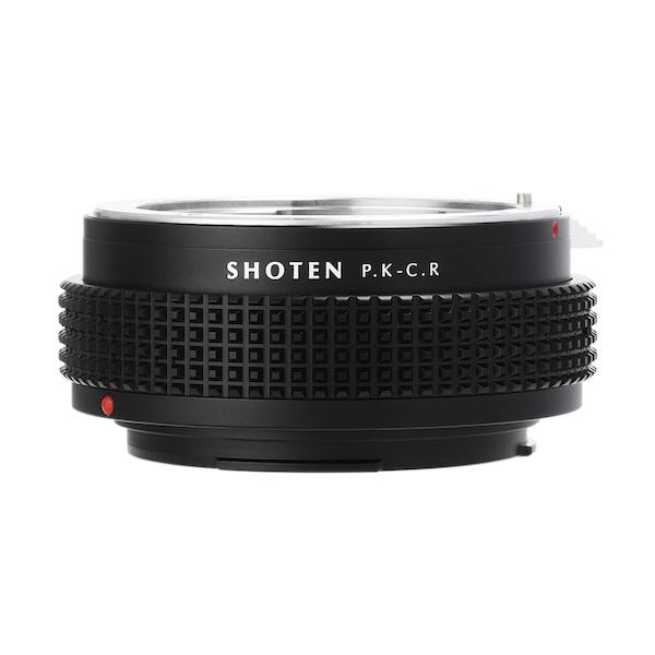 SHOTEN PK-CR(ペンタックスKマウントレンズ → キヤノンRFマウント変換)マウントアダプター