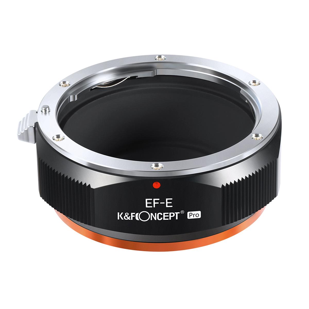 K&F Concept KF-EFE.P (キヤノンEFマウントレンズ → ソニーEマウント変換)