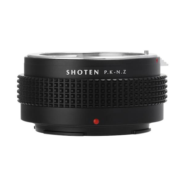 SHOTEN PK-NZ(ペンタックスKマウントレンズ → ニコンZマウント変換)マウントアダプター
