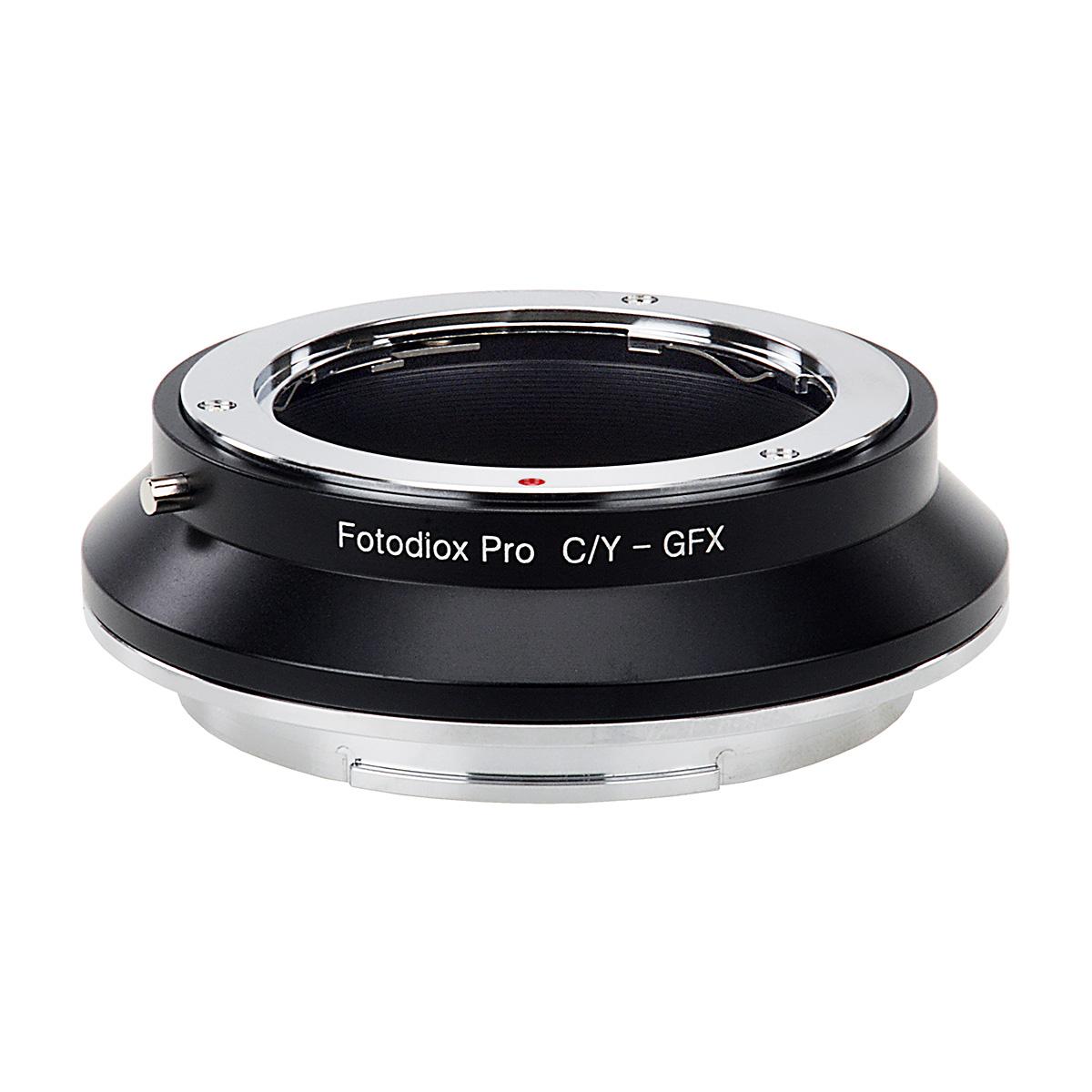 Fotodiox CY-GFX(ヤシカ・コンタックスマウントレンズ → 富士フイルムGマウント変換)マウントアダプター