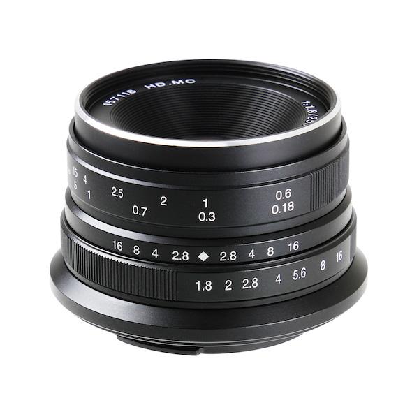 七工匠 7Artisans 25mm F1.8 ブラック 単焦点レンズ