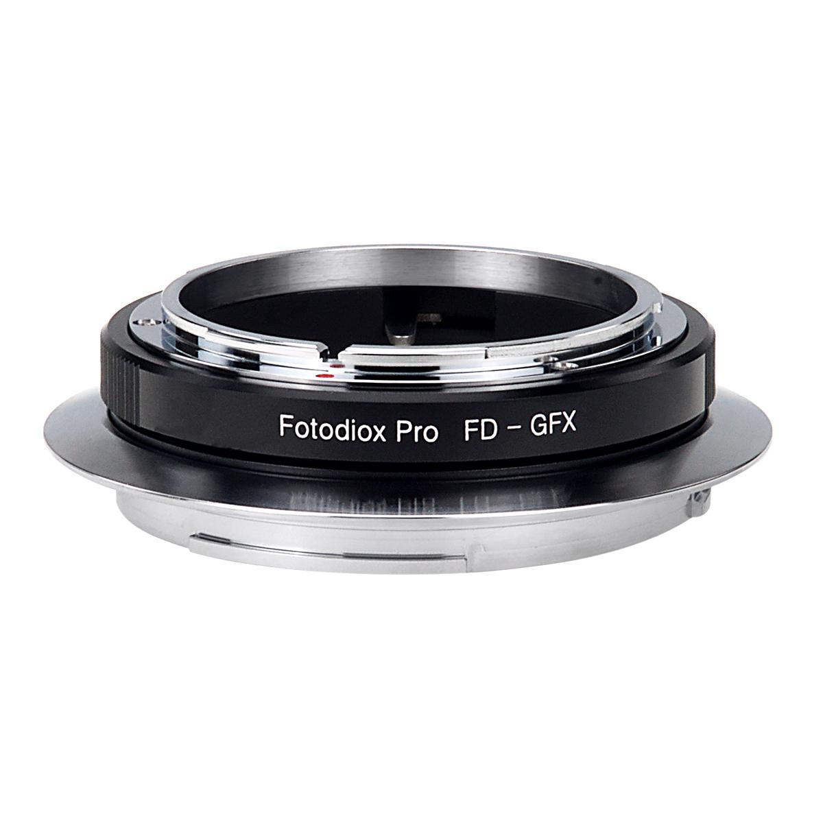 Fotodiox FD-GFX(キヤノンFDマウントレンズ → 富士フイルムGマウント変換)マウントアダプター