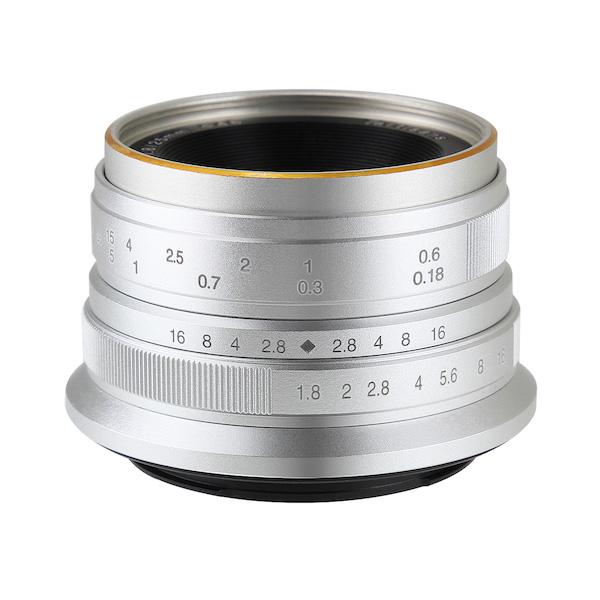 七工匠 7Artisans 25mm F1.8 シルバー 単焦点レンズ