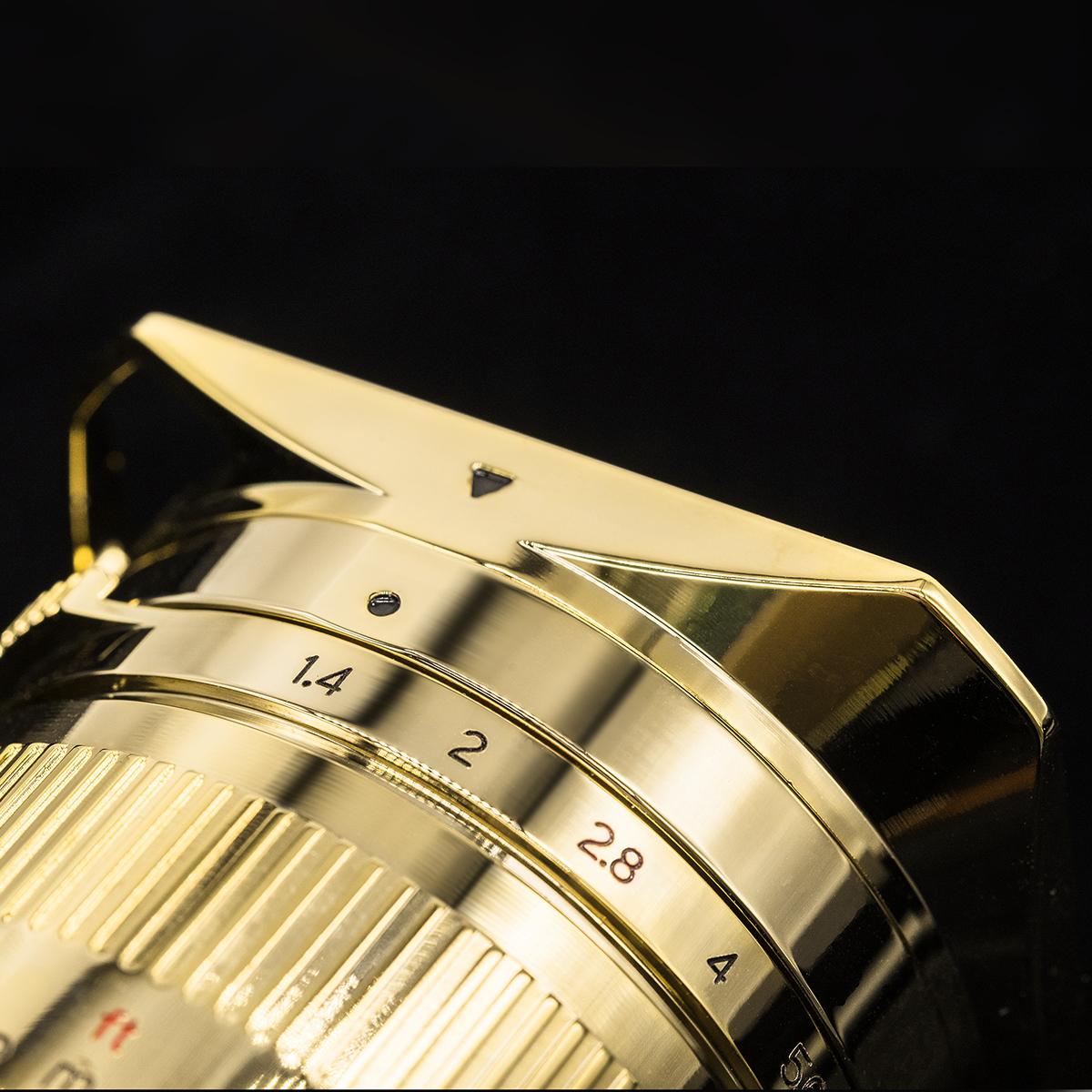 銘匠光学 TTArtisan 35mm f/1.4 ASPH Gold Edition