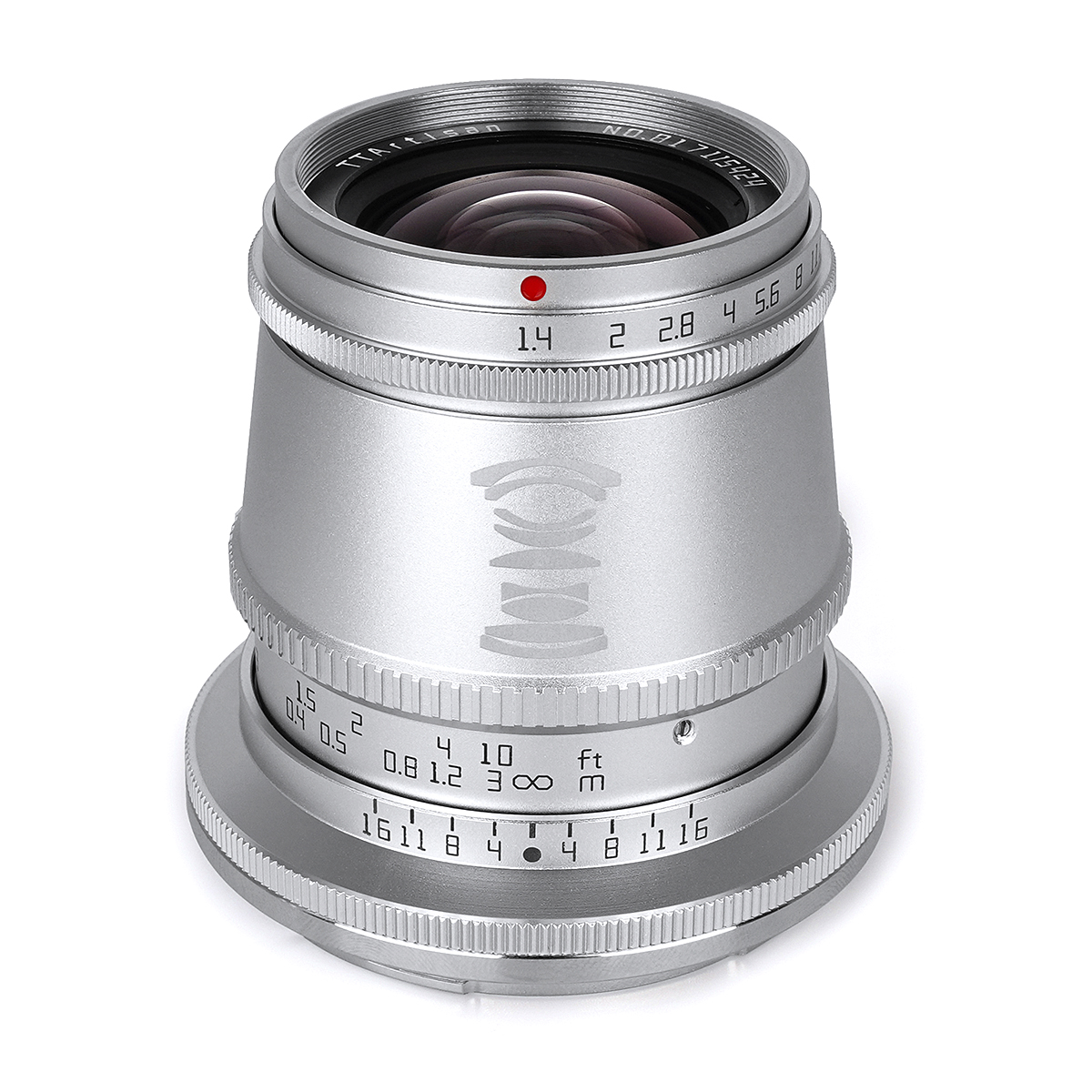 銘匠光学 TTArtisan 17mm f/1.4 C ASPH ニコンZ シルバー