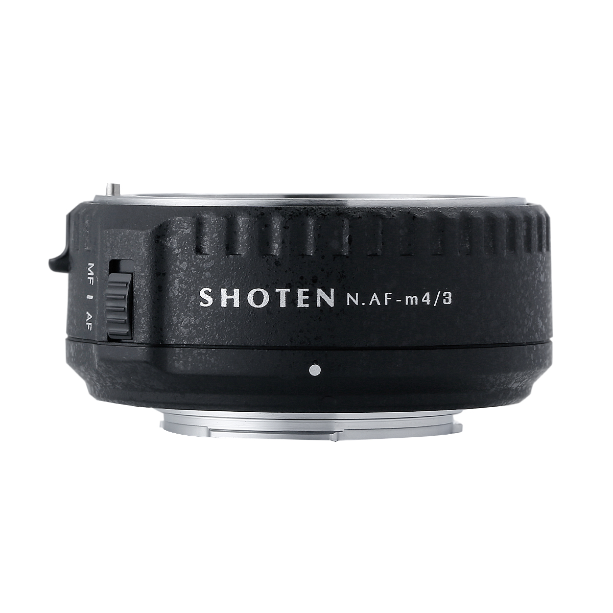 SHOTEN NAF-m43(AF-S NIKKORレンズ → マイクロフォーサーズ マウント変換)電子マウントアダプター AE/AF撮影可能