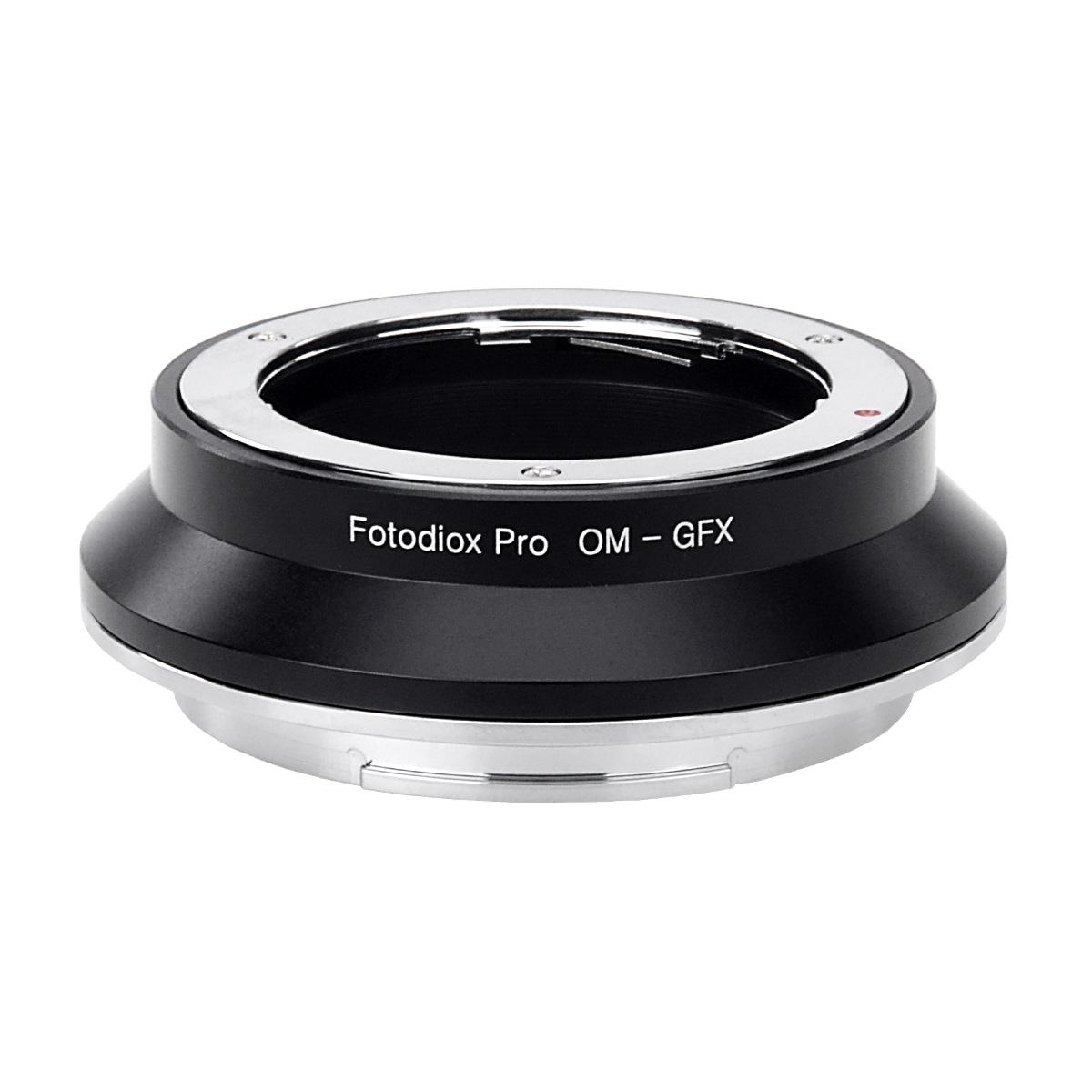 Fotodiox OM35-GFX(オリンパスOMマウントレンズ → 富士フイルムGマウント変換)マウントアダプター